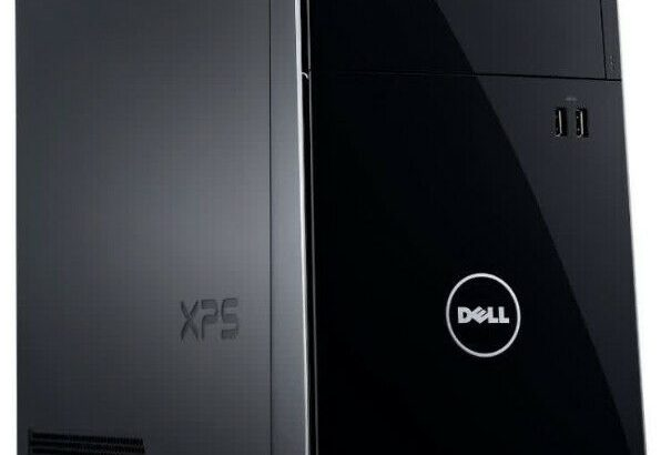 Dell XPS 8700 Desktop, Monitor and Peripherals. Ju