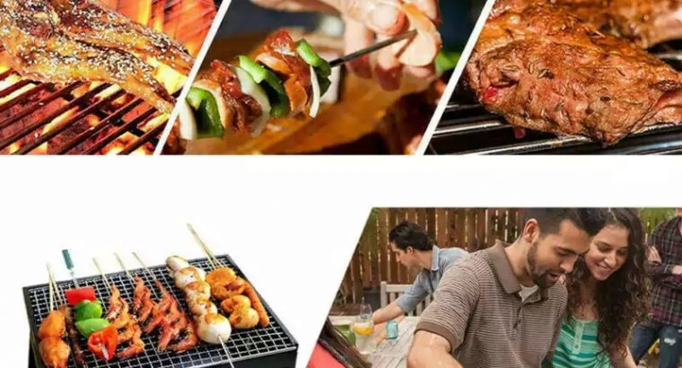 Foldable BBQ Grills Patio Barbecue Charcoal Grill