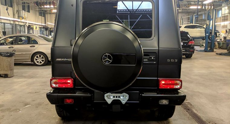 Used G-Wagon 2016 for sale.