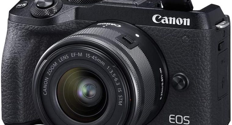 Canon EOS M6 Mark II Mirrorless camera
