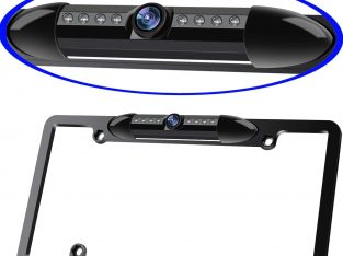 License Plate Frame Backup Camera