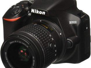 Nikon D3500 W/ AF-P DX NIKKOR 18-55mm