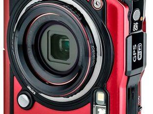Red Olympus Tough TG-6 Waterproof Camera