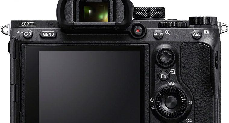 Sony a7 III ILCE7M3/B Full-Frame Mirrorless