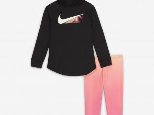 Little Kids' Top and Leggings Set Nike Dri-FIT