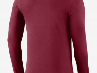 Men's Long-Sleeve T-Shirt Nike College Dri-FIT Man