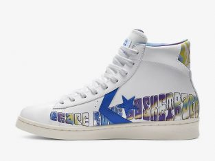 "High Top Pro Leather ""Peace Love Basketball"""
