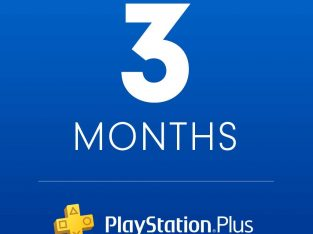Playstation Plus: 3 Month Membership [Digital Code