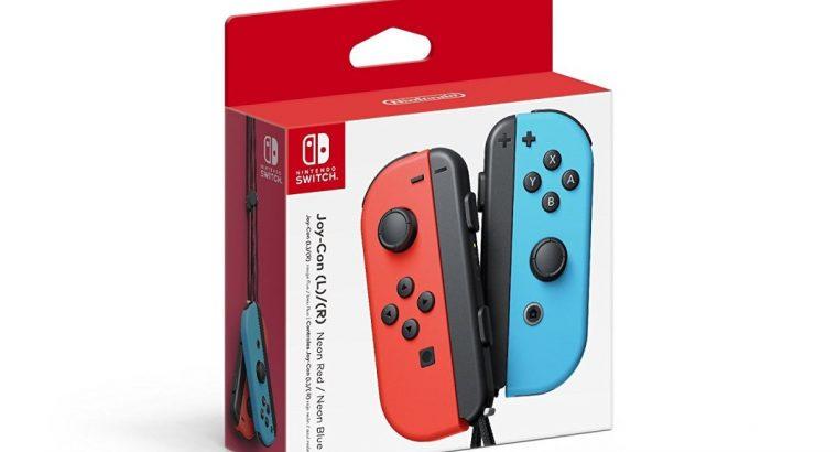 Nintendo Joy-Con (L/R) – Neon Red/Neon Blue