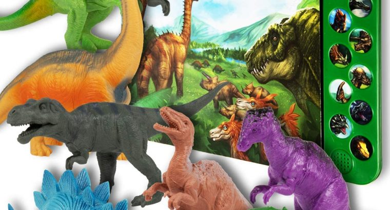 Li'l-Gen Dinosaur Toys for Boys and Girls 3 Years