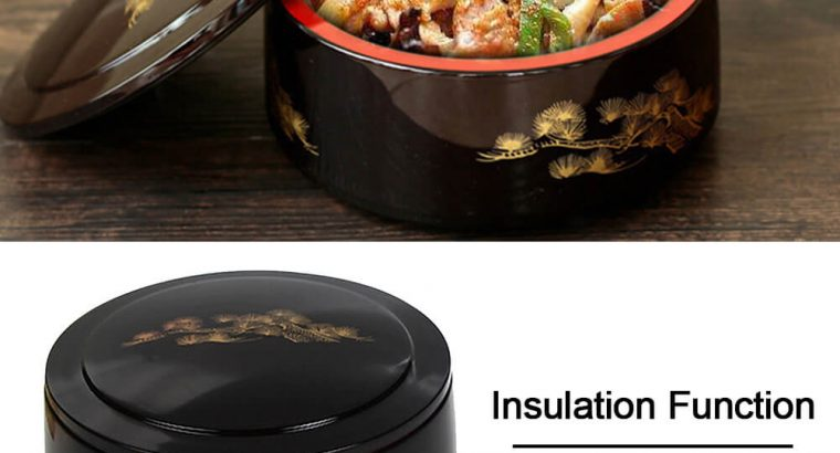 Lunch Box Food-grade Safe Plastic Sushi Insulation
