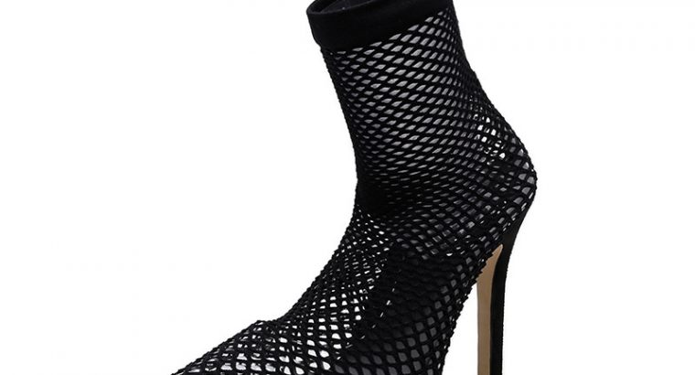 Ankle Boots for Women Stiletto Heel Pointed Toe