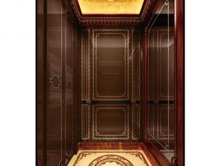 1250kg speed 1.0-1.75m/s Machine Roomless Elevator
