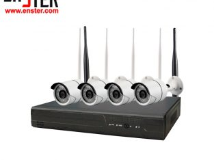 Wireless Network CCTV Camera Kit 1080p Wi-Fi