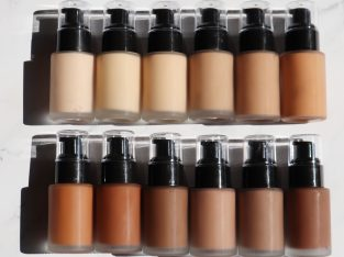 12 Colors Private Label Liquid Foundation (No Logo)