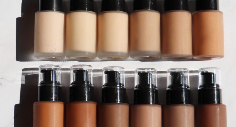 12 Colors Private Label Liquid Foundation (No Logo)