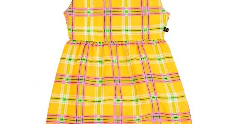 Sleeveless Frock Dress for Girls