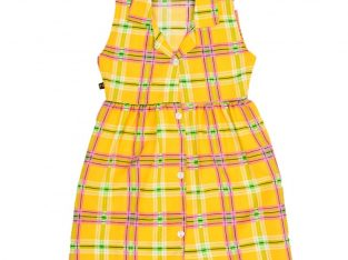 Sleeveless Frock Dress for Girls