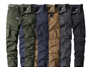 Loose Army Green Cargo Pants Casual Tooling Pants